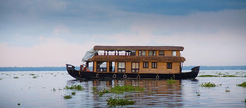 House Boat Kerala by Joseph Lazer