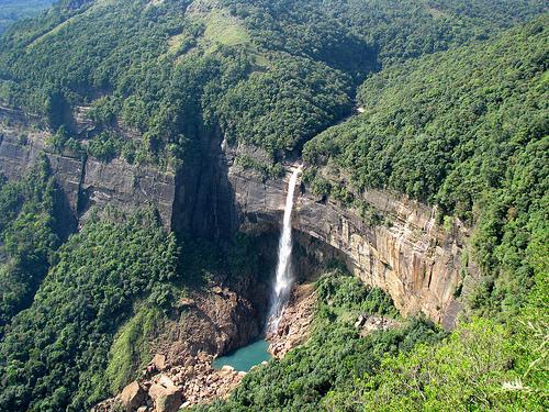 Nohkalikai Falls, Meghalaya