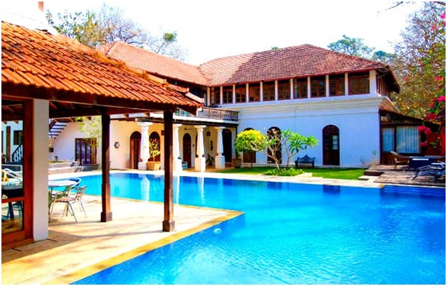 goa villa with pool