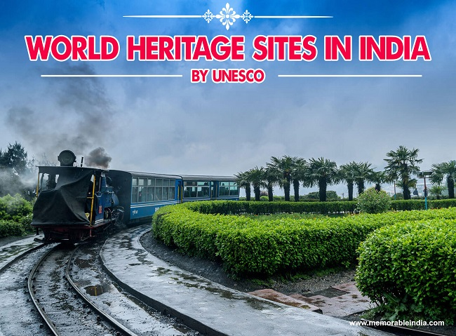UNESCO Sites in India Toy Train