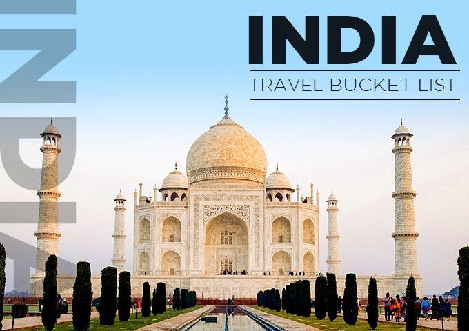 india bucket list