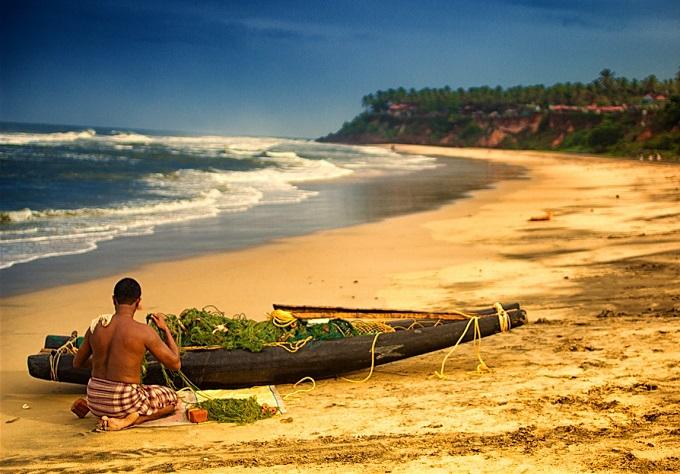 Verkala Beach