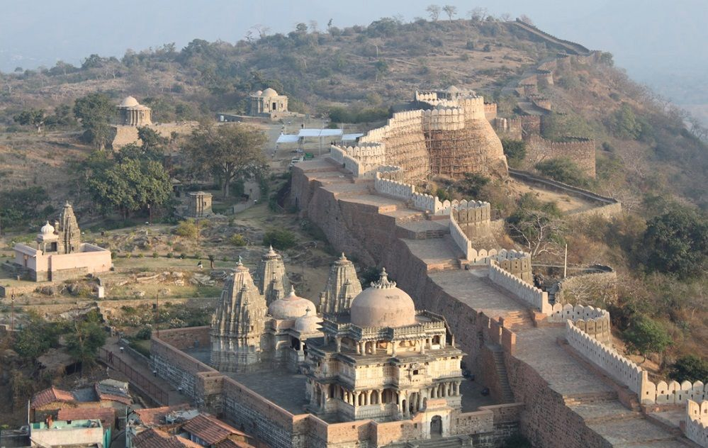 inside kumbhalgarh fort
