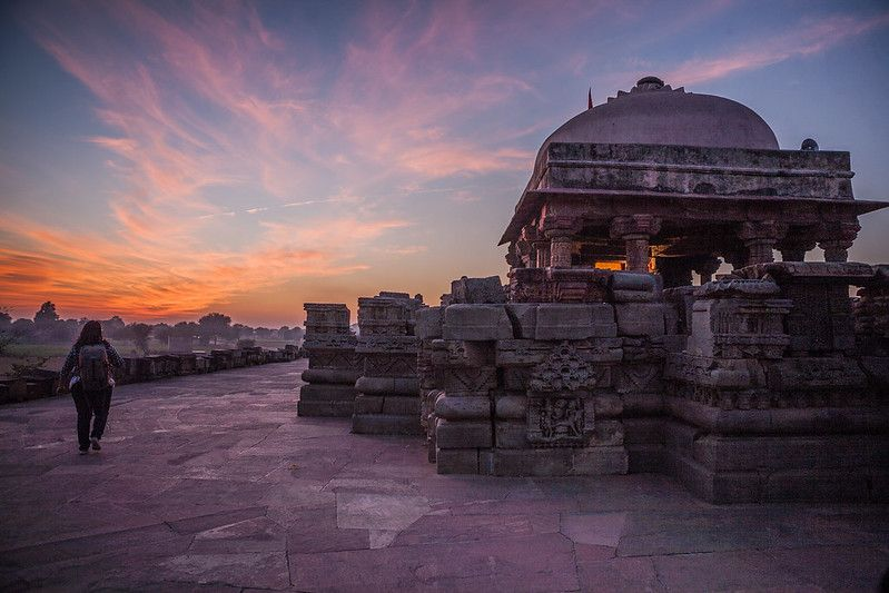Sunset at Abhaneri, Rajasthan, India