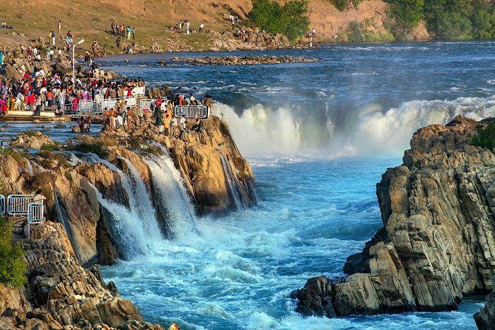 madhya pradesh jabalpur waterfall