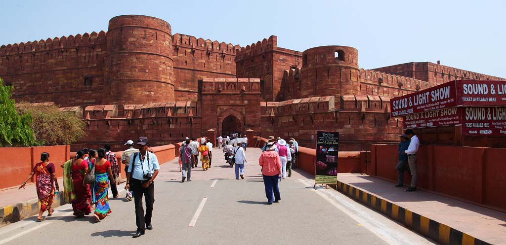 Entry Gate of Agra Fort India