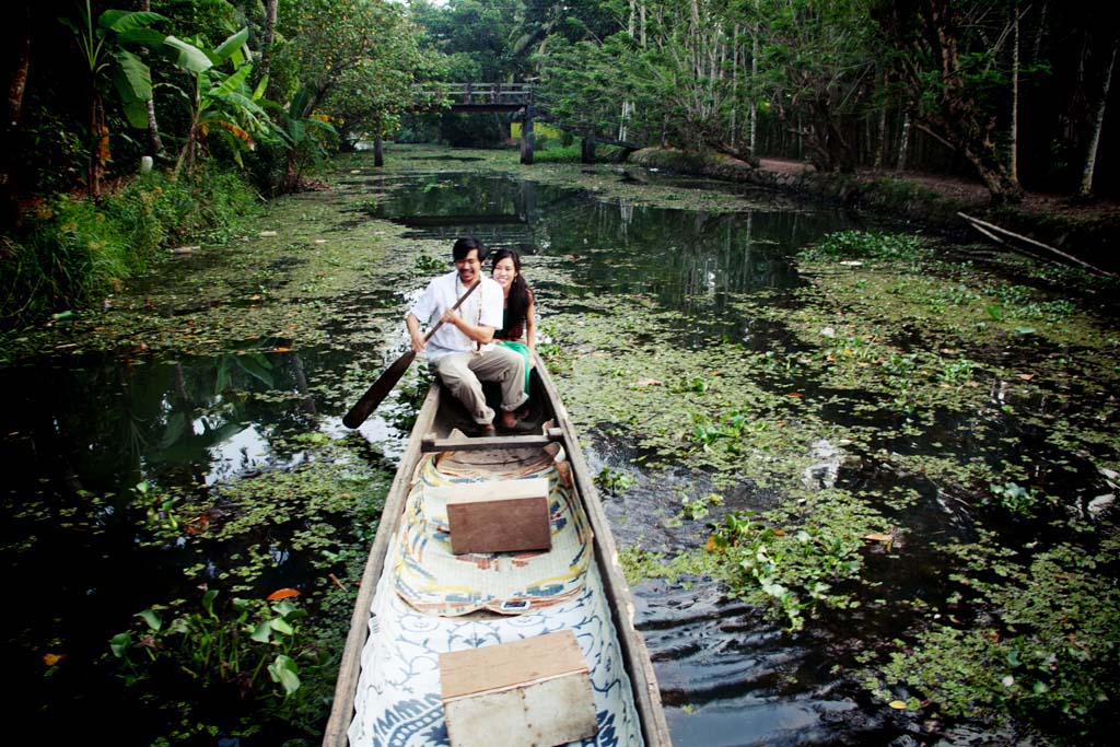 alleppey houseboat honeymoon trip