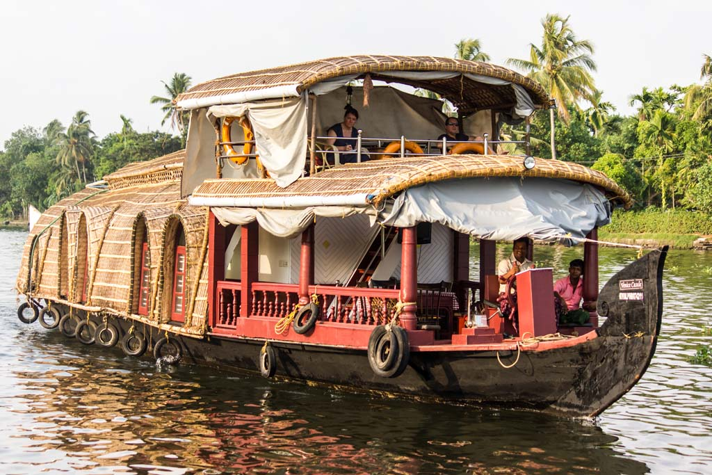 Alleppey Houseboat Trip in Kerala India