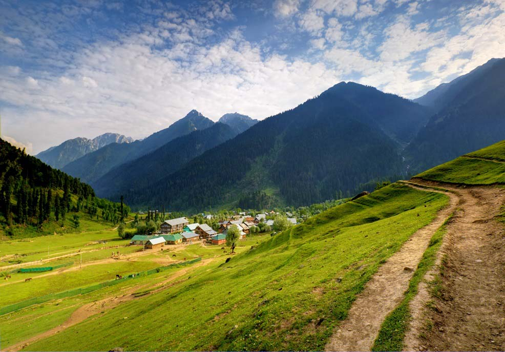 Aru Valley Anantnag Jammu and Kashmir India