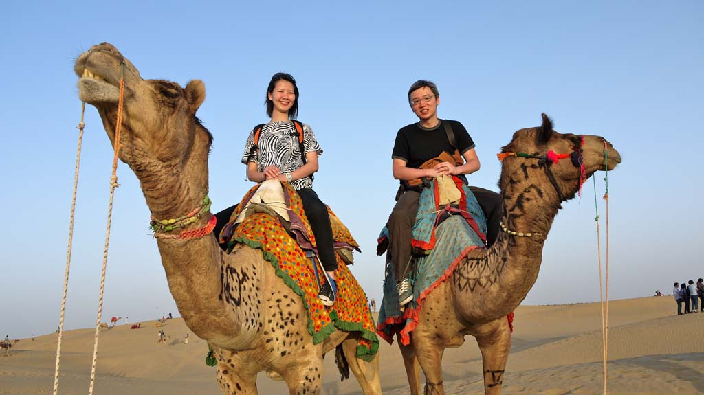 Rajasthan Desert Safari Camp, Camel Safari in Jaisalmer