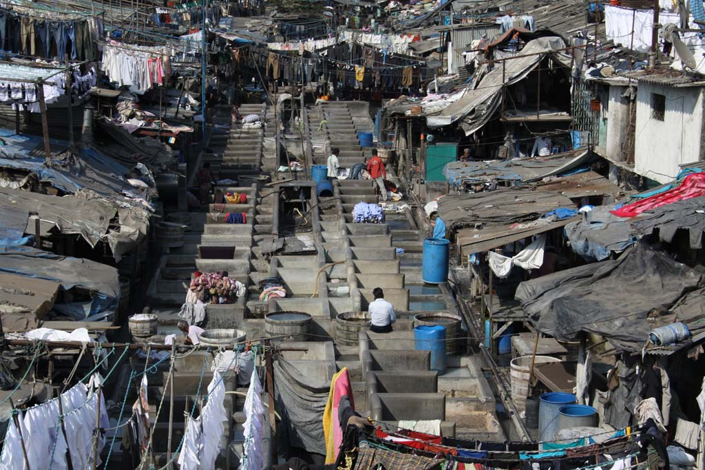 Dhobi Ghat Laundry Mumbai India