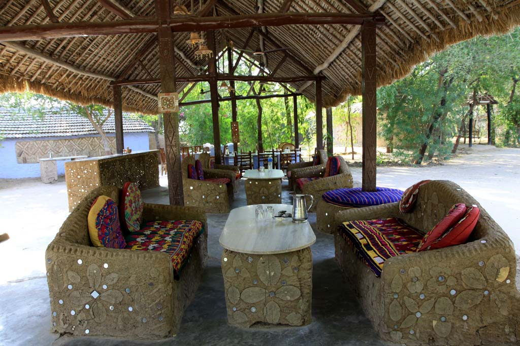 Dining Area Desert Coursers Zainabad Gujarat India