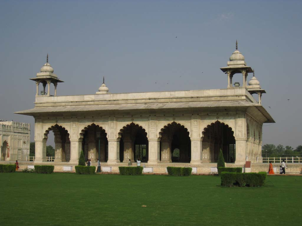 Divan-i-Khas Red Fort Delhi India
