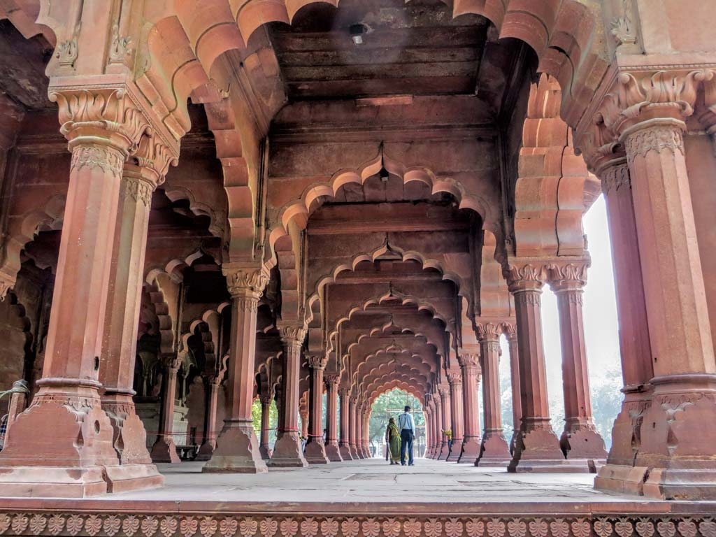 Diwan-i-Aam Red Fort Delhi India