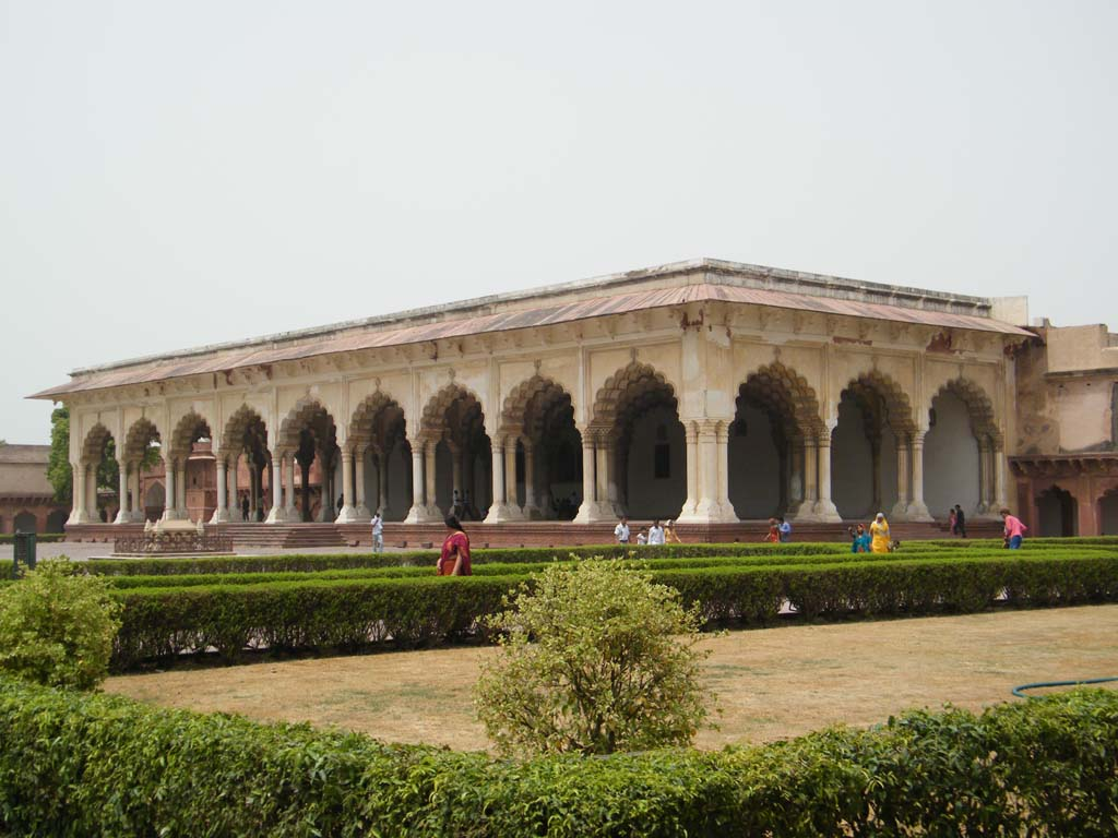 Diwan-i-am Agra Fort India
