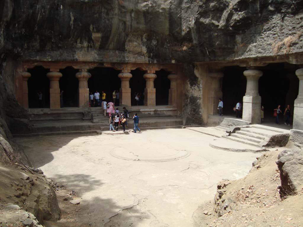 East Entrance Elephanta Mumbai Maharashtra India