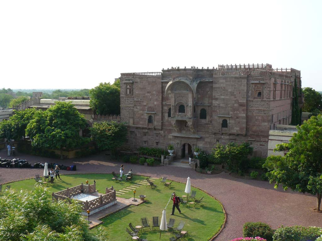 Fort Chanwa Luni Jodhpur Rajasthan India