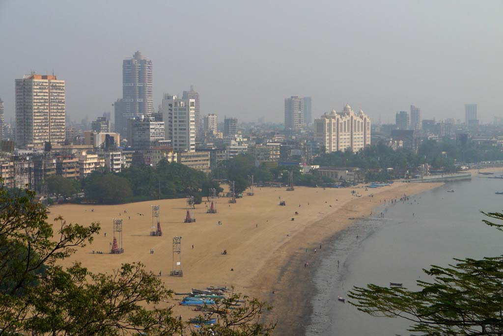Girgaum Chowpatty Beach Mumbai India