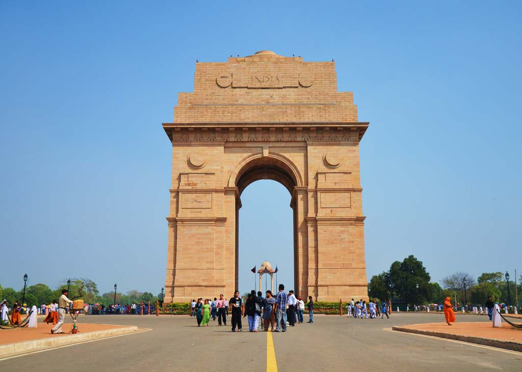 India Gate - All India War Memorial - Rajpath New Delhi India