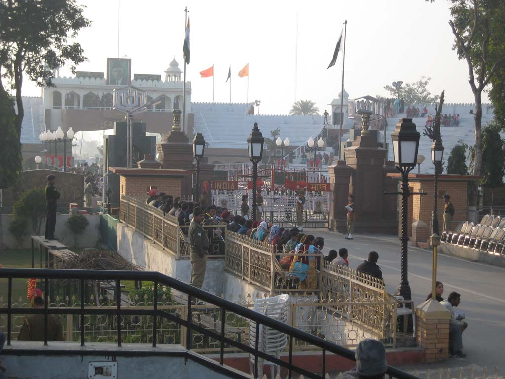 India Pakistan Wagah Border Attari Punjab India