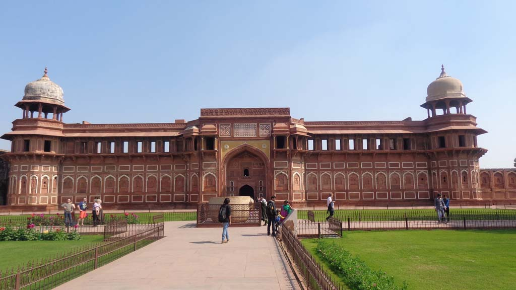 Jahangir Palace Agra Fort India