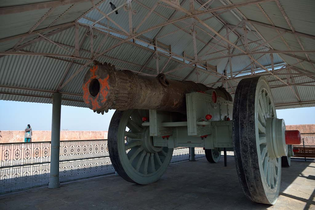 Jaivana Cannon at Jaigarh Fort Jaipur Rajasthan India