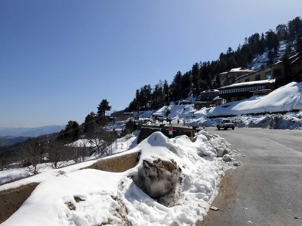 Kufri Hill Station Shimla Himachal Pradesh India