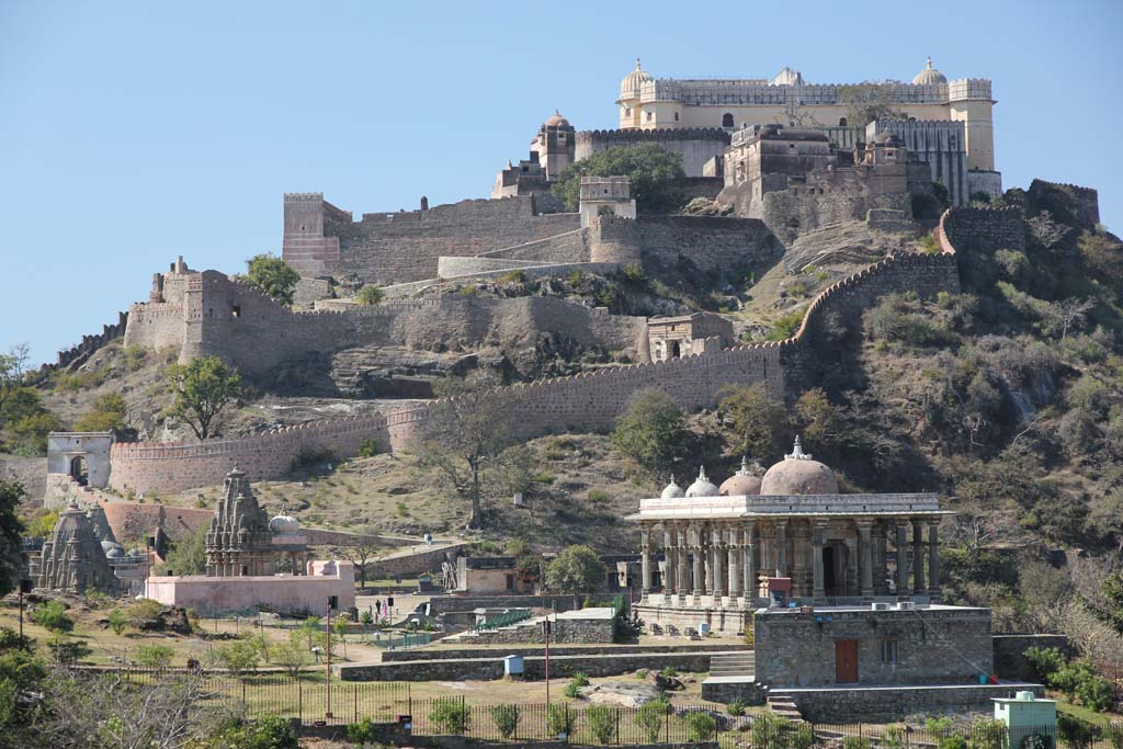 Kumbhalgarh Fort Rajsamand Rajasthan India