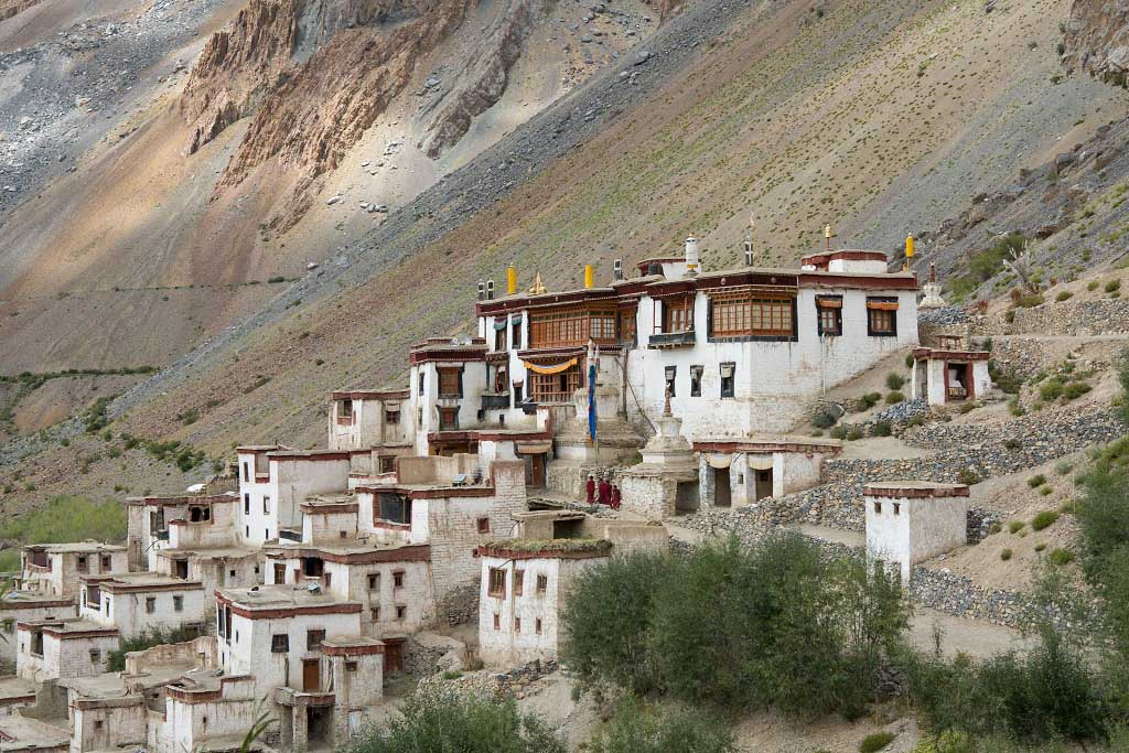 Lingshed Gompa and Monastery in Leh Ladakh India
