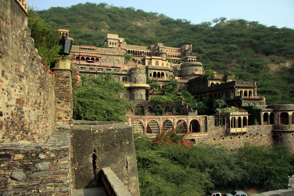 Neemrana Fort Palace Alwar Rajasthan India