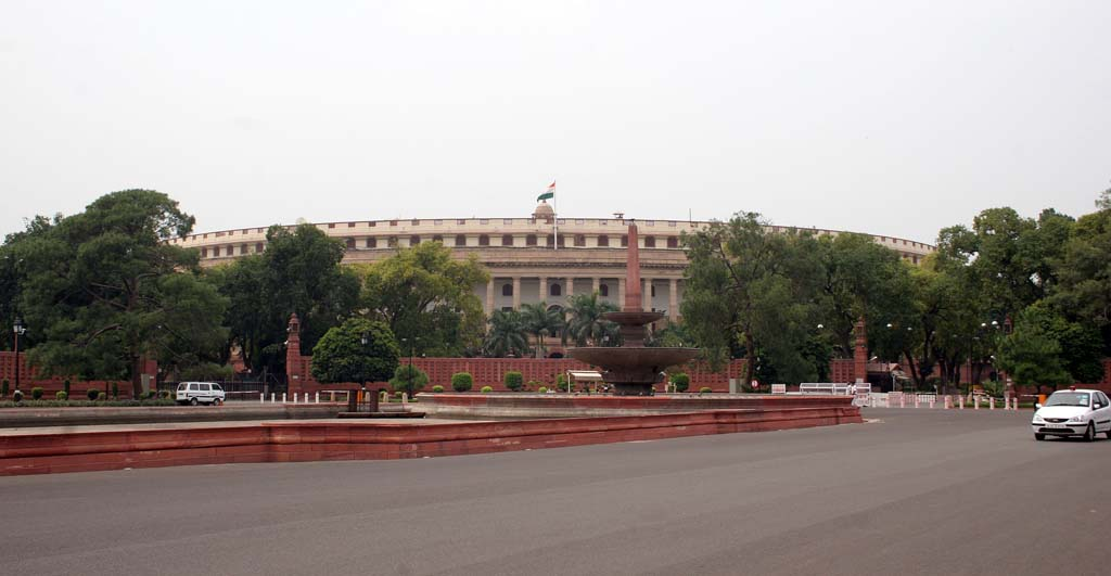 Parliament House - Sansad Bhavan - Rajpath New Delhi India