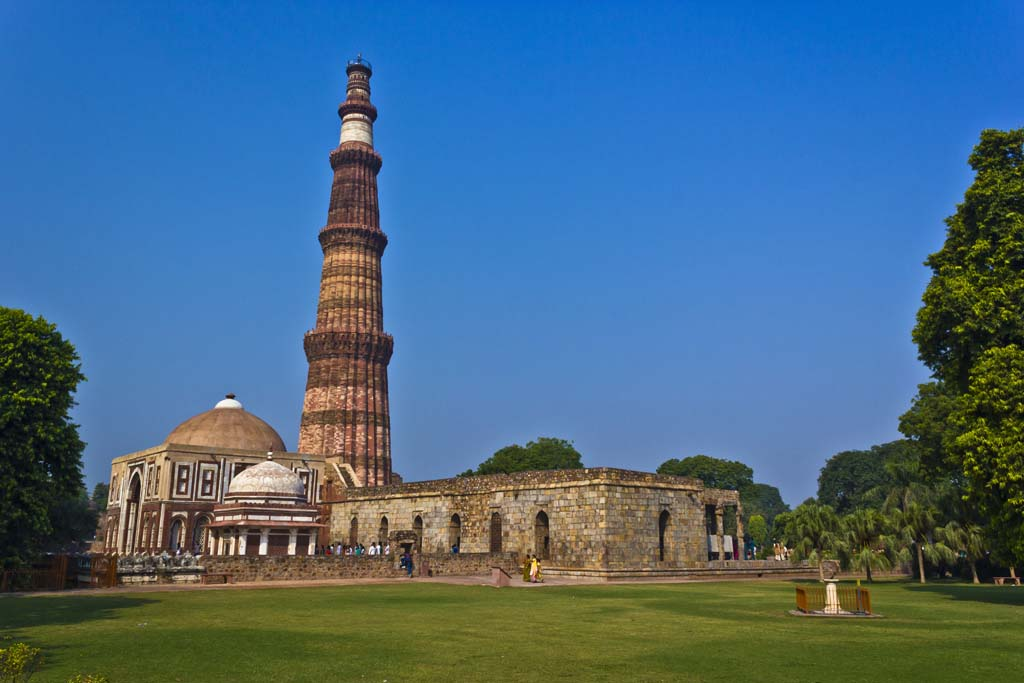 Qutub Minar New Delhi India