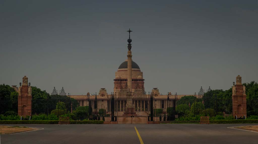 Delhi Travel Packages - President House - Rashtrapati Bhavan New Delhi India