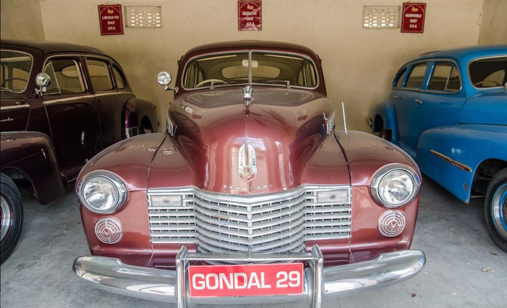 Royal Family Collection of Vintage and Classic Cars Gondal Gujarat India