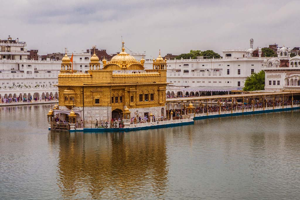 The Golden Temple Amritsar Punjab India